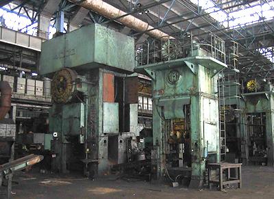 Smeral 4000 Ton Mechanical Forging Press Lzk 4000 1982